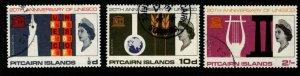 PITCAIRN ISLANDS SG61/3 1966 UNESCO FINE USED