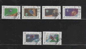 AFGHANISTAN #1068-1074  1984 WORLD AVIATION DAY         MINT VF NH  O.G  CTO