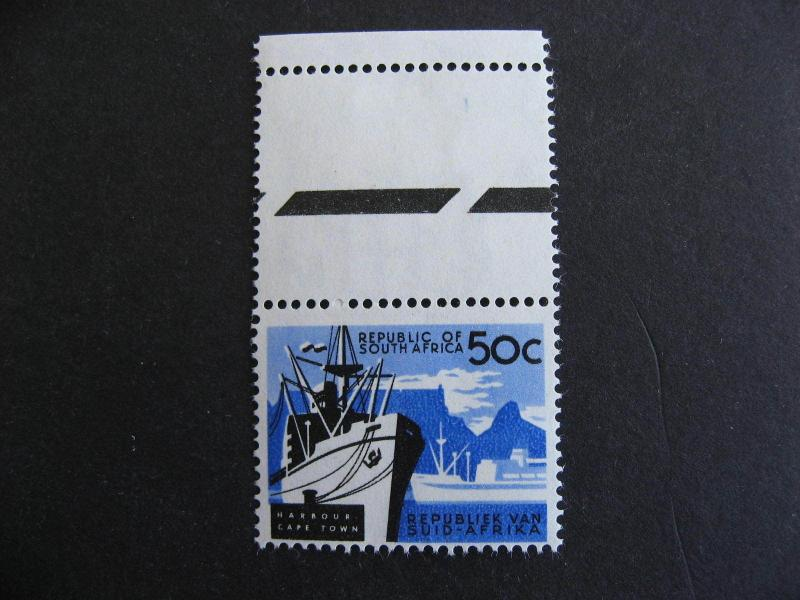 SOUTH AFRICA Sc 265 MNH (selvedge MH/thin) nice stamp here check it out!