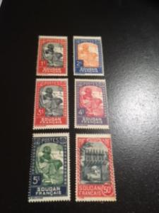 French Sudan sc 61-65,76 MH