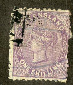 QUEENSLAND 100 USED SCV $25.00 BIN $10.00