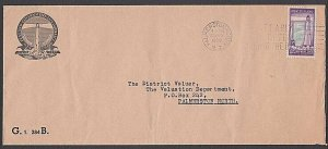 NEW ZEALAND 1958 Govt Life 3d Lighthouse on cover...........................Q552
