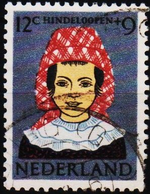 Netherlands. 1960 12c+9c S.G.905 Fine Used