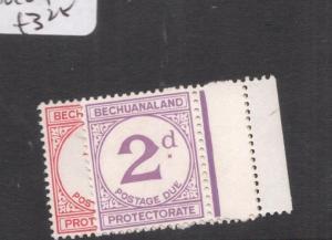 Bechuanaland Postage Due SG D5a,D6c MOG (1dgq)