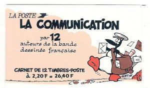 France, 2099a, Angouleme Festival Winning Cartoons, Bklt,MNH