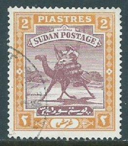 Sudan, Sc #43, 2pi Used