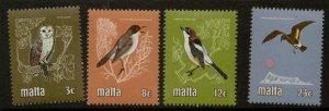 MALTA SG655/8 1981 BIRDS MNH