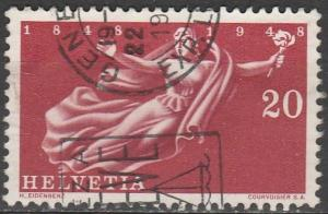 Switzerland #314  F-VF Used  (S9785)