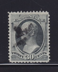 165 VF+ used neat light cancel with nice color cv $ 140 ! see pic !