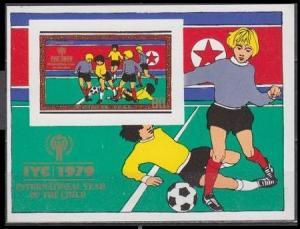 1979 Korea, North 1935/B67b Football 16,00 €