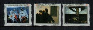 Croatia  159 - 161 MNH $ 4.50