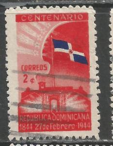 DOMINICAN REPUBLIC 400 VFU FLAG Z2605-4
