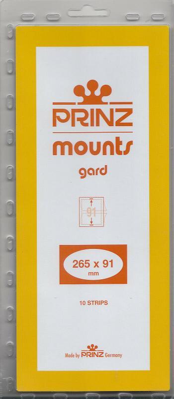 PRINZ 265X91 (10) BLACK MOUNTS RETAIL PRICE $13.00