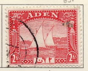 Aden 1937 Early Issue Fine Used 2a. 025039