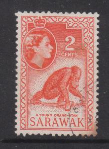 Malaya Sarawak 1955 Sc 198 2c Used