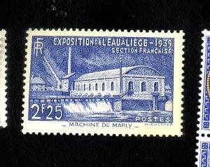 FRANCE #388 MNT VF OG NH Cat $25