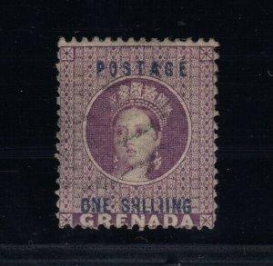 Grenada, SG 13a, used, SHLLIING variety