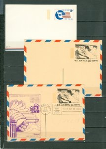 US LOT of (34) SATIONERY CARDS...MINT & FDC