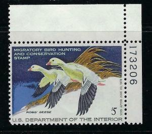 VEGAS 1977 - USA Duck Stamp - Scott# RW44 - MNH, Undisturbed OG - CX708