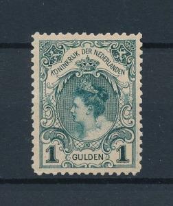 [96108] Netherlands 1898 Queen Wilhelmina Inauguration Munt Re-gummed VF