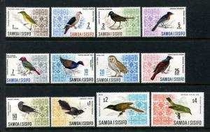 Samoa 265-274B, MNH, 1967 Birds,  x22652