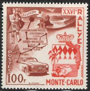Monaco #365 M/H 25% of SCV $20.00 **FREE SHIPPING**