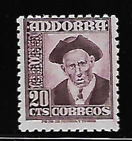 ANDORRA 40 MINT HING PROVOST