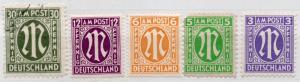 (I.B) Germany Postal : Allied Military Post