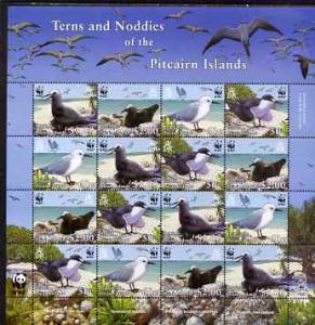 Pitcairn Islands 2007 WWF Endangered Species - Terns &amp...