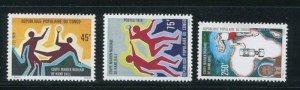 Congo #506-8 MNH