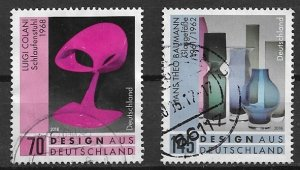 Germany used  - 2016 SET  -   Design aus Deutschland