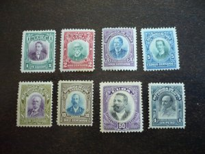 Stamps - Cuba - Scott# 239-246- Mint Hinged Set of 8 Stamps