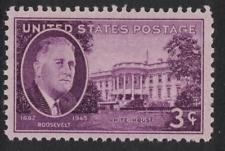 SCOTT # 932 SINGLE FRANKLIN DELANO ROOSEVELT WHITE HOUSE MNH GEM !!1945