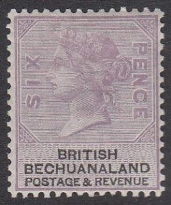 Bechuanaland 15, SG14 MVLH CV $80.00