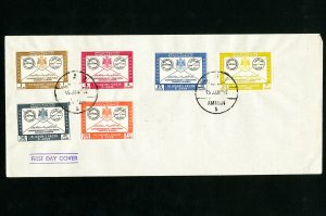 Jordan Scarce Early First Day Stamp Cover