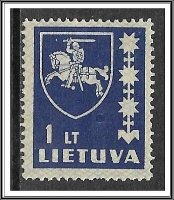 Lithuania #305 Coat of Arms MH