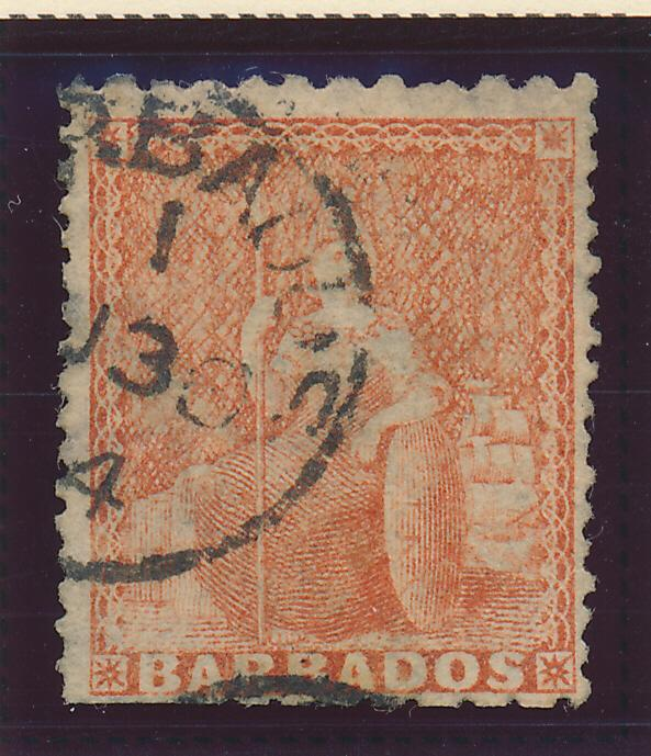 Barbados Stamp Scott #37, Used - Free U.S. Shipping, Free Worldwide Shipping ...