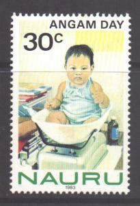 Nauru Scott 275 - SG290, 1983 Angam Day 30c MNH**
