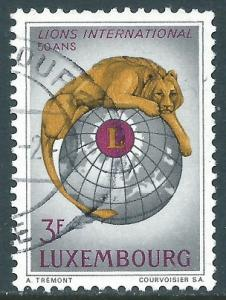 Luxembourg, Sc #451, 3fr Used