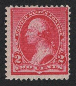United States MINT Scott Number 220  MNH  F-VF  - BARNEYS