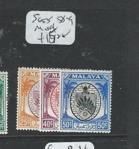 MALAYA NEGRI SEMBILAN (P1208B) SG55, 58-9  MOG