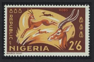 Nigeria Kob Antelopes 1v 2Sh6d SG#182