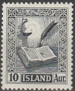 Iceland #278  F-VF Unused (SU3198)