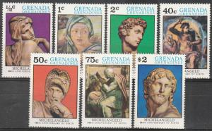 Grenada Grenadines #67-73   MNH CV $2.50  (S9634)