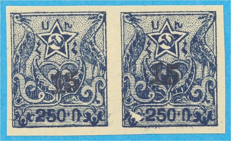 ARMENIA 354 IMPERF PAIR  MINT NEVER HINGED OG ** NO FAULTS  VERY FINE! - A