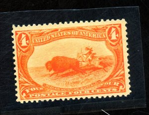 287 MINT VF OG NH Cat$330