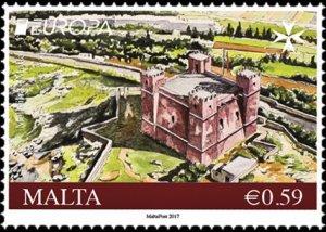 Malta 2017 Red Tower (Mellieha) mint**