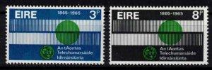 Ireland - Sc198-199 ITU mint - CV $4.50