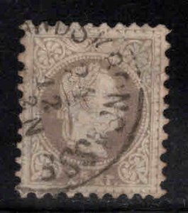 Austria Osterreich Scott 32 Used 1867 brn-lilac color