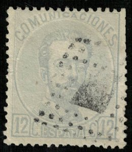 King Amadeo I, 12 c MC #112, 1872-1873 Spain (3840-т)